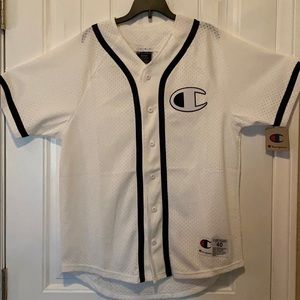 Champion baseball jersey New with Tag size Medium